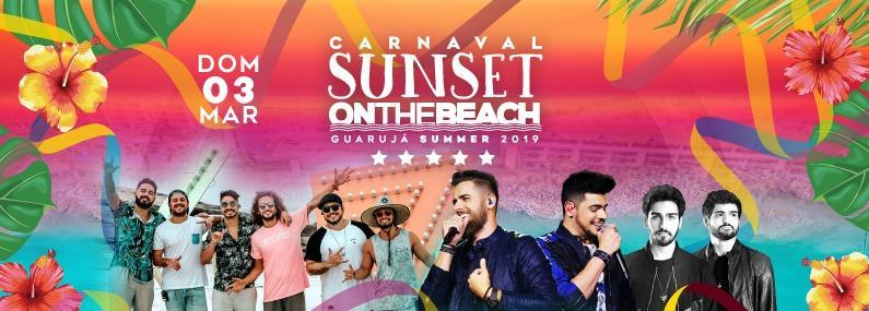 Carnaval Sunset On The Beach 2019