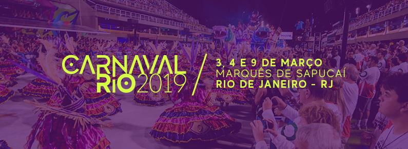 Carnaval Rio 2019 - Inteira